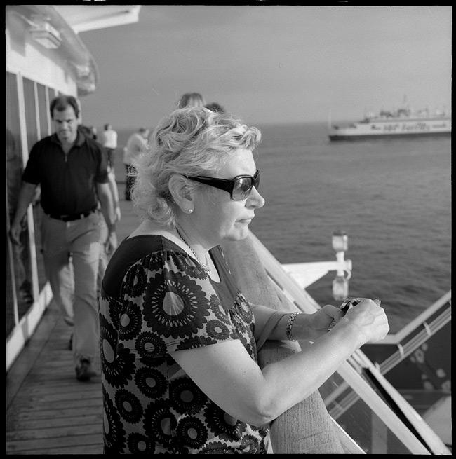 Crossing by ferry