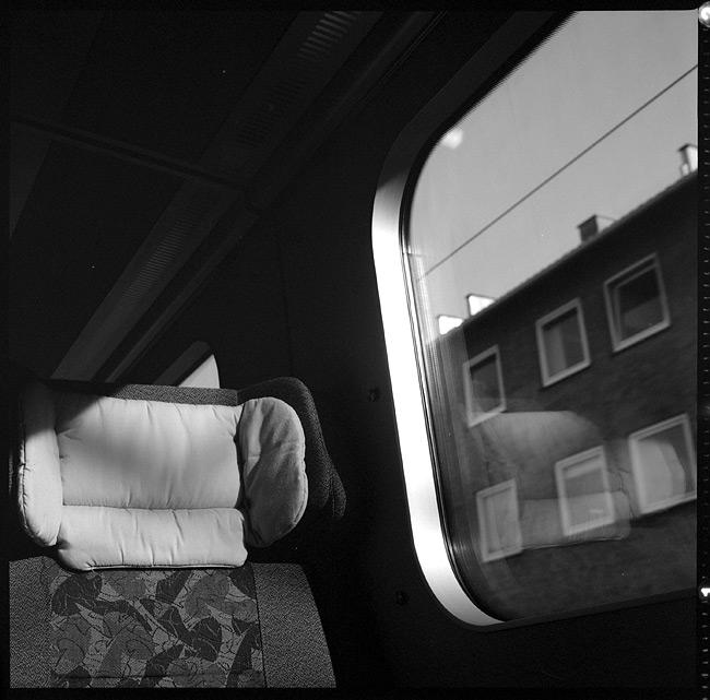 Tåget mellan Odense och Köpenhamn